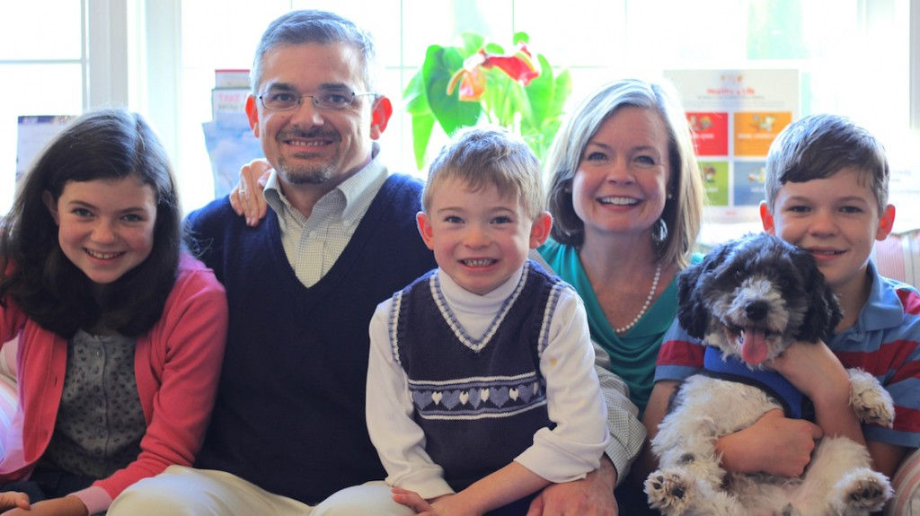 Drs. David and Anne Stewart and family
