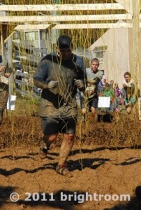Dr. Dave in Tough Mudder competition